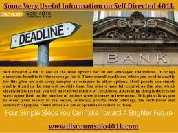 If you are pondering to set up a Solo 401k plan and need help in analyzing the plan document, then contact Discount Solo 401k and get reliable advice & help. Discount Solo 401k is a full service provider of specialized 401k plans in Colorado. We provide reliable consultations to our clients to simplify their problem so that they can secure their lives after retirement.