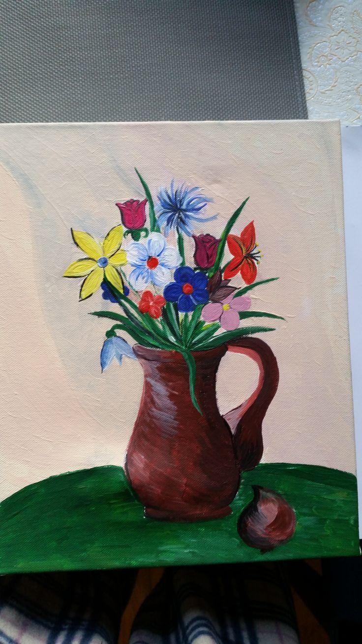 Flowers Acrylic
