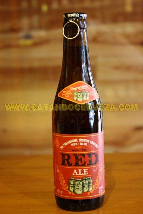 Cerveza The Porterhouse Red Ale, la versión perfeccionada de las Red Ale irlandesas mas comerciales.
