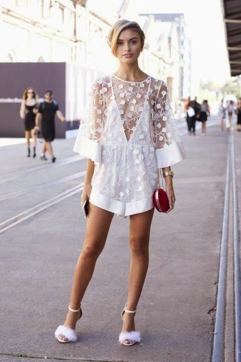 Parisienne: Crocheted White Dress