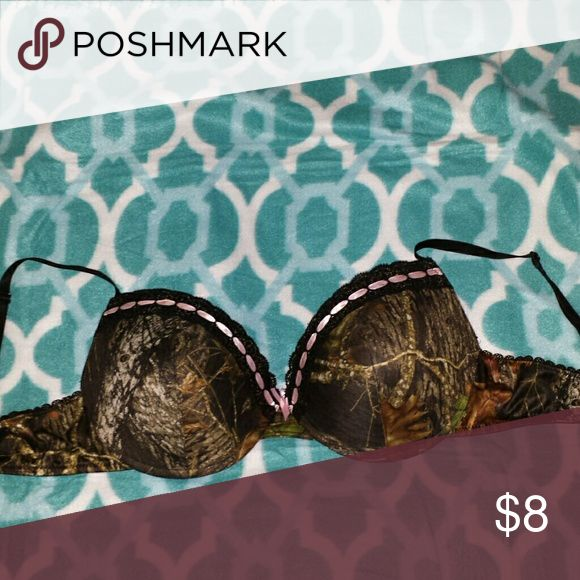 Adorable Camo Bra Great for any country girl! Doesnt fit my boobies, unfortunately ?? But it is sooo cute! Wilderness Dreams Intimates & Sleepwear Bras
