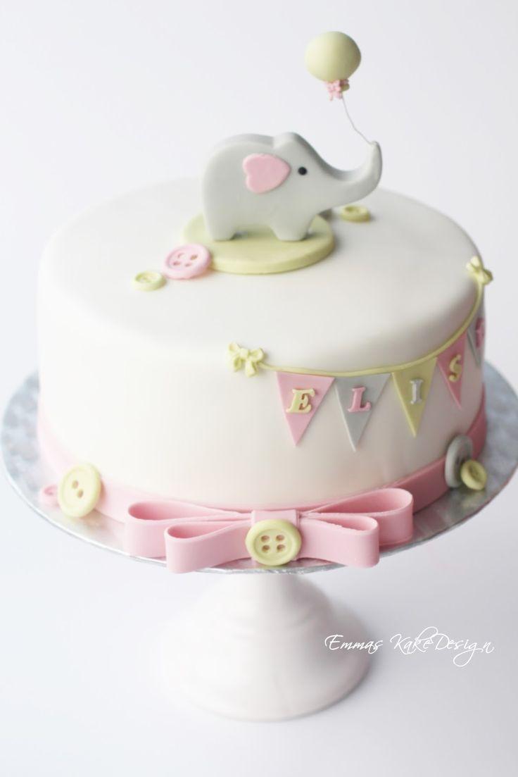 Emmas KakeDesign: Make your own cute elephant cake topper! www.emmaskakedesign.blogspot.com