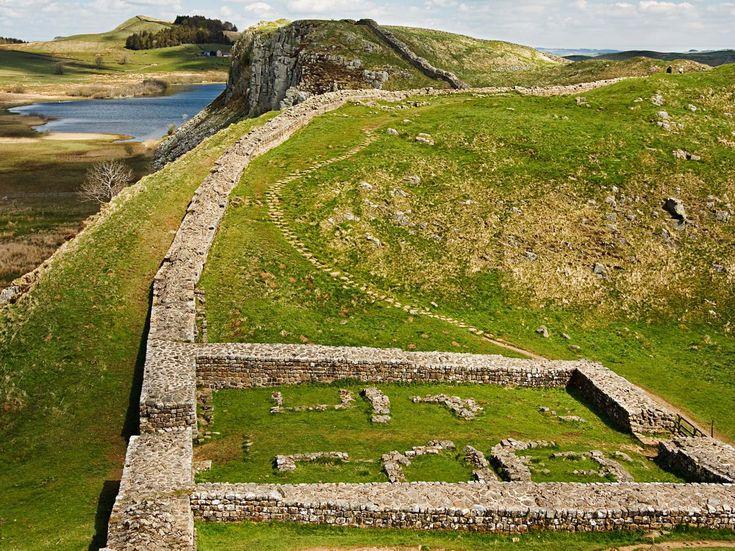 El Muro de Adriano, frontera romana en Britania