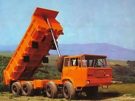Tatra 813 S1 8x8 odviezla 21 500 kg sypkého nákladu.
