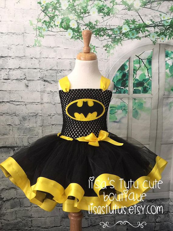Batman tutu Batman dress Batman costume Batman party