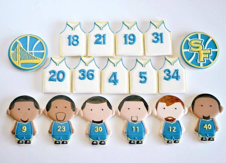 Golden State Warriors cookies . Golden state warriors starting lineup  (@idreamofcookiesdotcom) • Instagram photos and videos