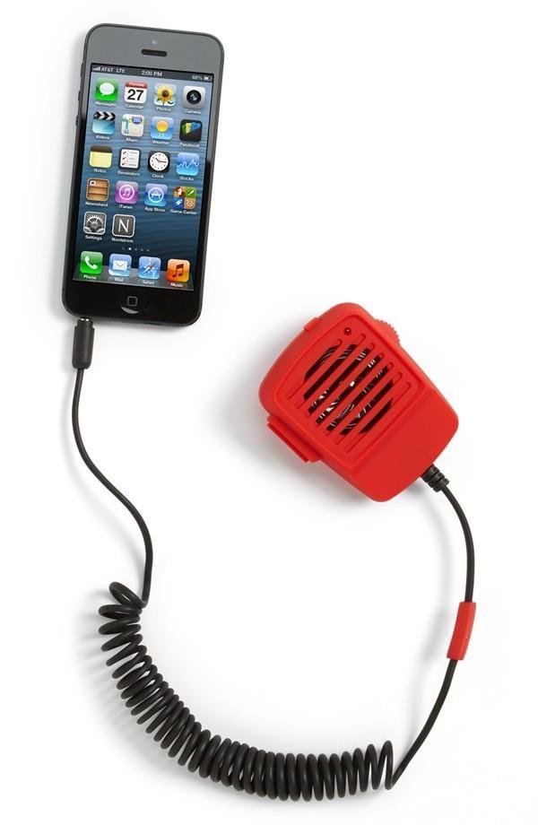 'Walkie Talkie' Microphone Speaker for Smartphones