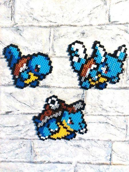 Wanddeko - Wandsticker, Pokemon, Schiggy, Schillock, Turtok - ein Designerstück von Astrid-Zauberstuebchen bei DaWanda