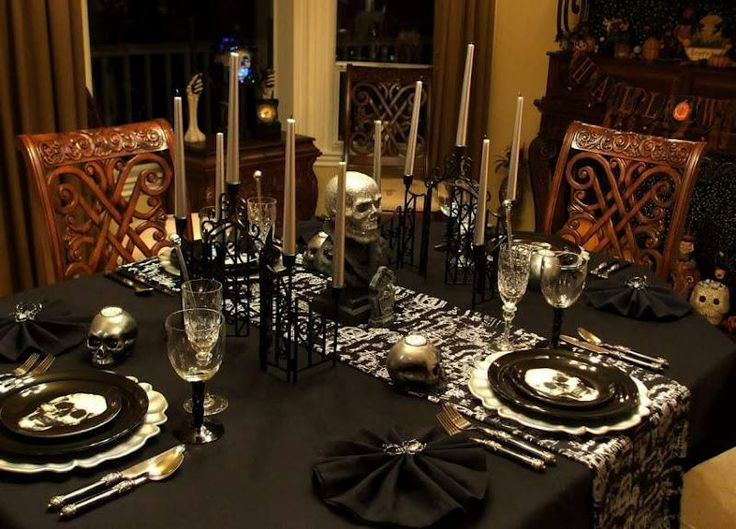 8 best Halloween Tables images on Pinterest Mesas Tables and