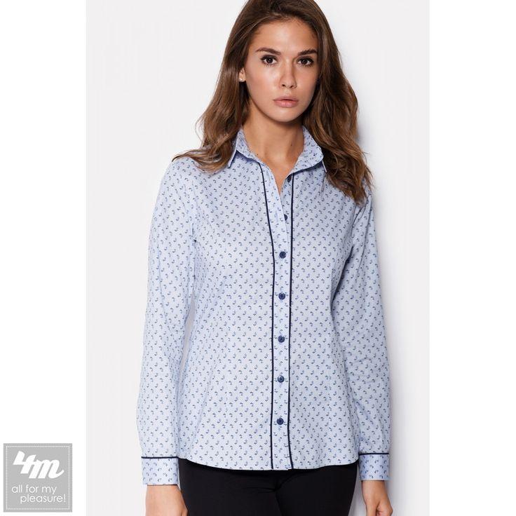 Рубашка Cardo «TRIX» (Светло-голубой в мелкий цветок) http://lnk.al/3zoo  Состав: Хлопок - 95%; Спандекс - 5% (поплин)  Голубая рубашка из поплина – материала, в основе которого лежат волокна хлопка. Застегиваясь пуговицами на планке и рукавах, рубашка имеет темное обрамление кантом по планке и манжетам. Голубой цвет ткани также усыпан темными мелкими точками.
