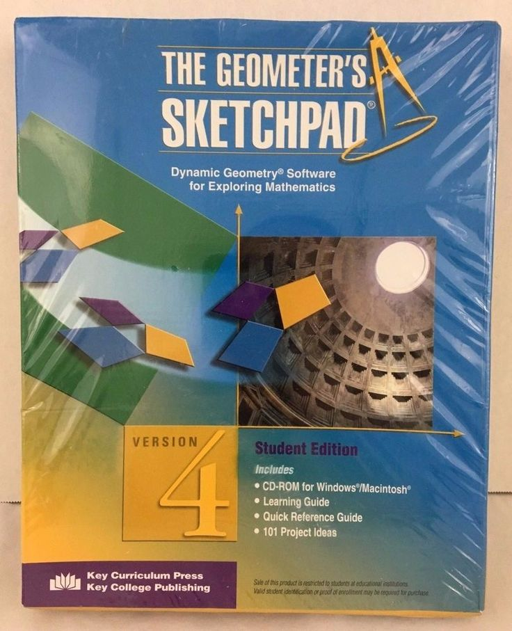 The Geometers Sketchpad Dynamic Geometry Software for Exploring Mathematics NIB #Software