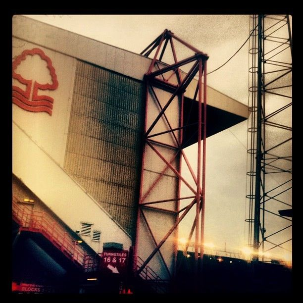 City Ground home of Nottingham Forest FC