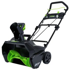Would rather have this than the plow (since I do most of it) LOWES 2/4/15 25% through 3/15 $299-29.9 (10%)= $269.10 Greenworks Pro 80-Volt 20-in Cordless Electric Snow Blower