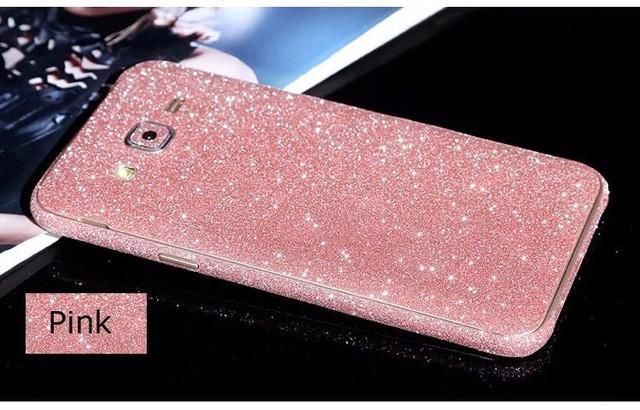 Fashion Glitter Sticker Front Back Cover For Samsung Galaxy A3 A5 A7 J3 J5 J7 2016 Grand Prime Case For Galaxy S In 2021 Samsung Galaxy A3 Phone Cases Pink Phone Cases