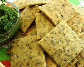 Cocina Sin Gluten: Galletitas Saladas con Oregano                                                                                                                                                                                 Más
