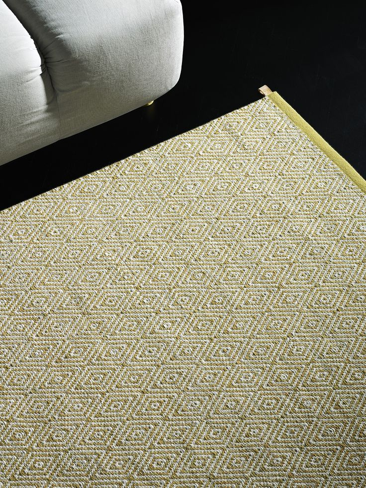 Kasthall Goose Eye XL Straw Woven Rug