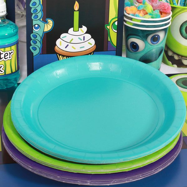 coordinating plates for monsters inc party                                                                                                                                                                                 More