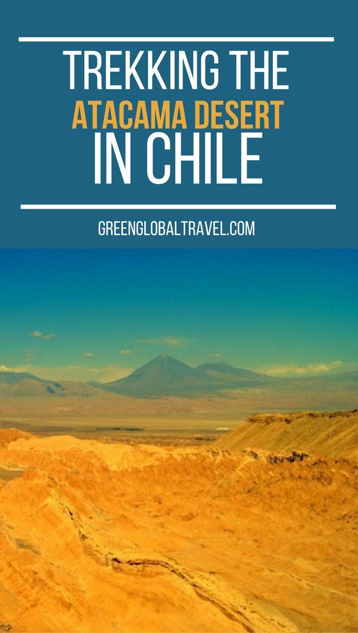 Hear our story about trekking the atacama desert, the driest place on earth!   Chile   Valle de la Luna  