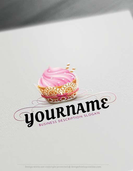 Free Logo Creator. Create Bakery Logo Design with the Logomaker
