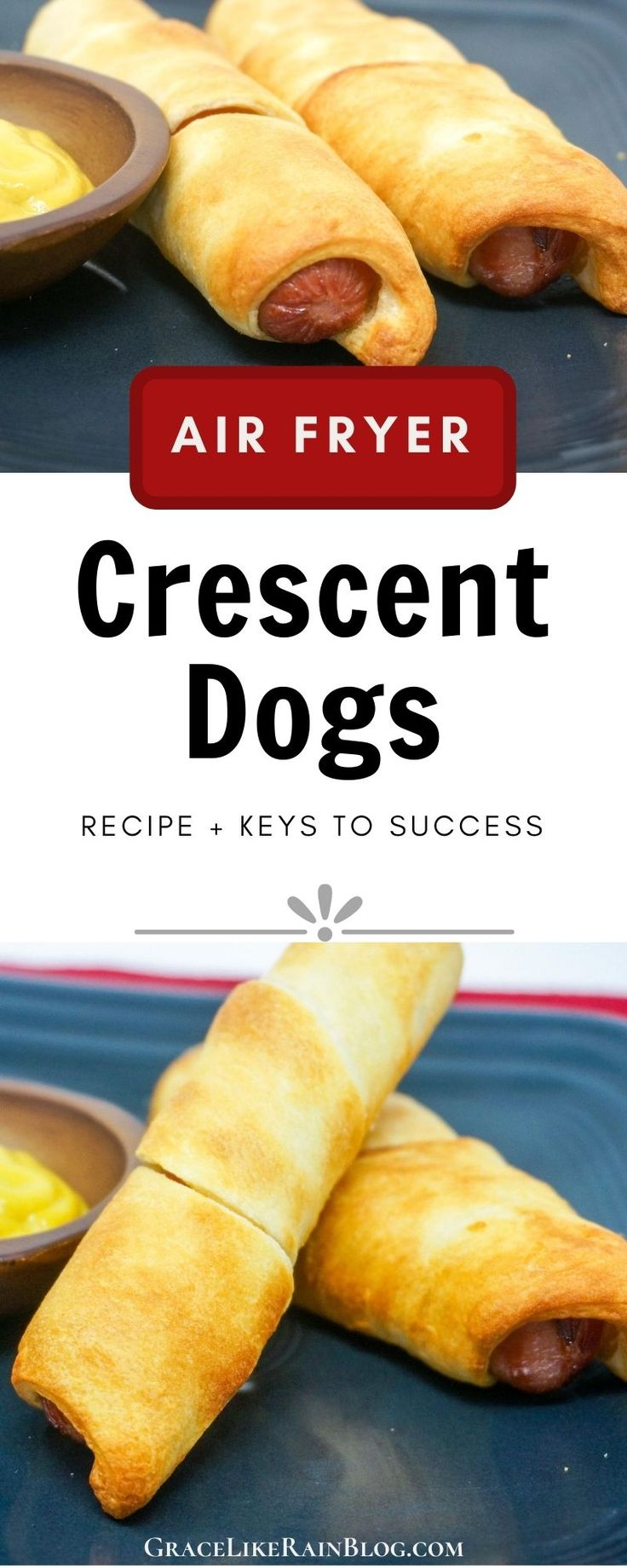 Air Fryer Crescent Dogs Recipe in 2020 Crescent dog