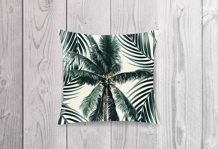 Reversible Cushion Cover ~ FLAMINGO JUNGLE by KateStClaireLivingCo on Etsy