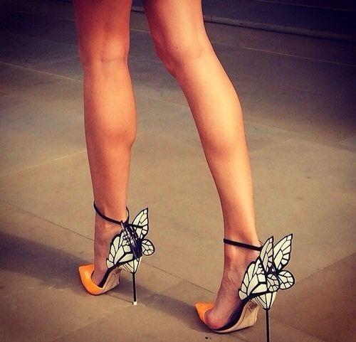 Orange and butterflies