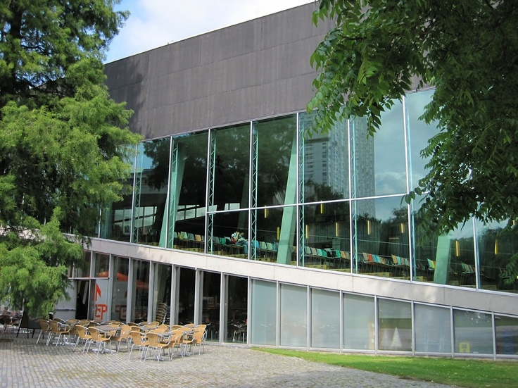 Rem Koolhaas, The Kunsthal, Rotterdam