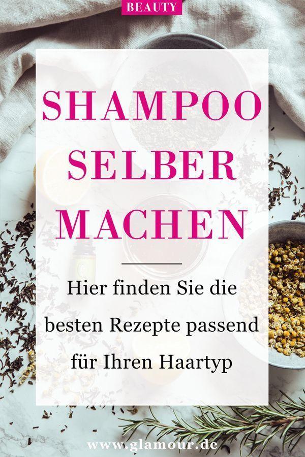 Make shampoo yourself: recipes for every hair type  -  Hautpflege-Rezepte