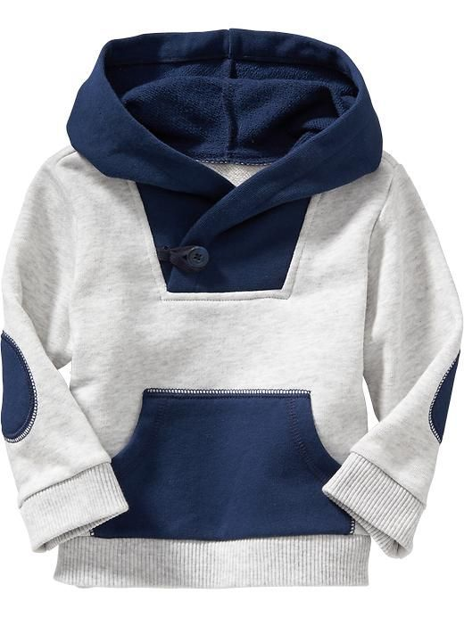 Color-Block Fleece Hoodies for Baby Product Image