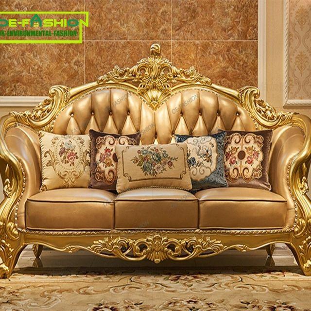Source Oe Fashion New Modern Living Room Furniture Sets Luxurious Royal Sofa Set On M Alibaba Com Mebel Dizajn Doma Dekor
