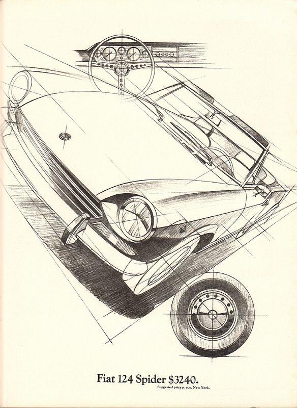 1969 Fiat 124 Spider Advertisement Playboy April 1969 | by SenseiAlan