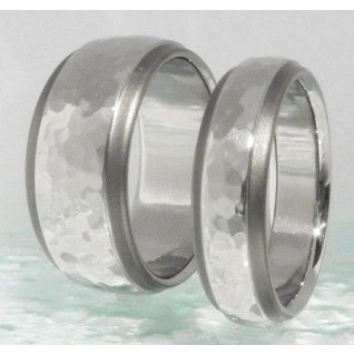 17 best images about titanium wedding band sets on