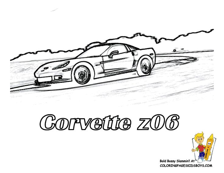 58 best Cool Super Car Coloring Pages images on Pinterest ...