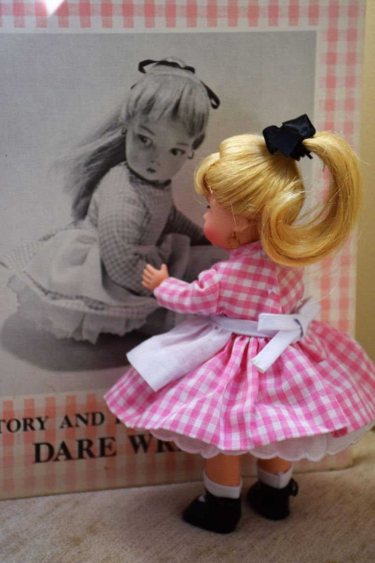 Edith The Lonely Doll by Madame Alexander based on the story by Dare from doll-heaven on Ruby Lane