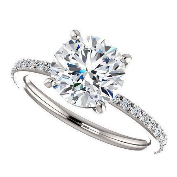 1000 ideas about Flat Engagement Rings on Pinterest
