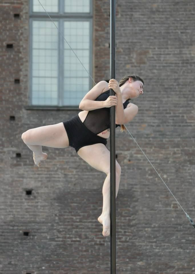 Irene Gollin at Torino Pole Kontest 2014