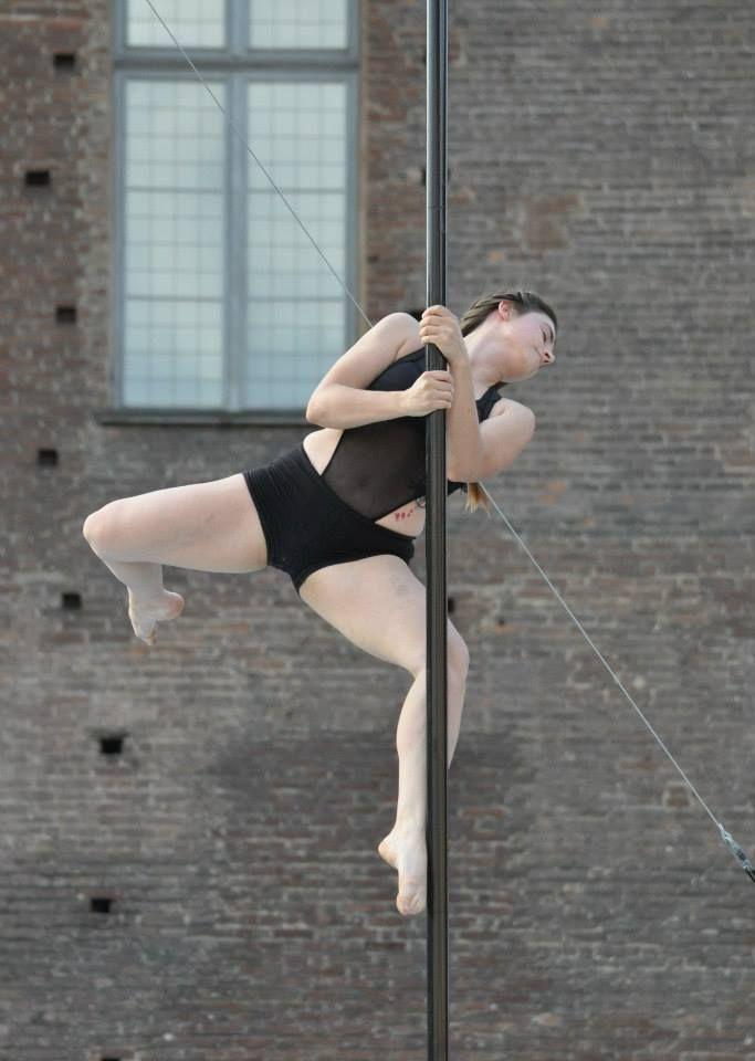 Irene Gollin at Torino Pole Kontest 2014