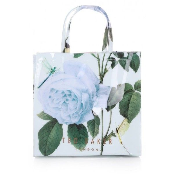 Ted Baker Womens Mint Roscon Distinguishing Rose Icon Bag |... (1.605.830 VND) ❤ liked on Polyvore featuring bags, handbags, mint green purse, mint bag, ted baker purse, ted baker and rose bag