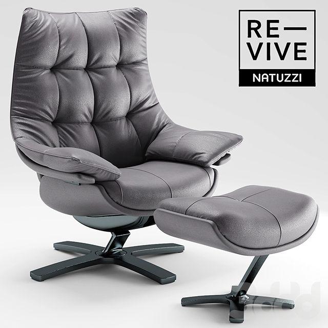 Armchair Re-vive by Natuzzi