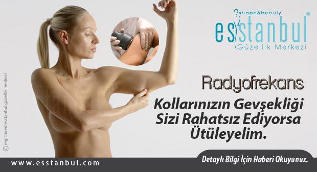 Radyofrekans cildi sıkılaştırır ve gençleştirir.