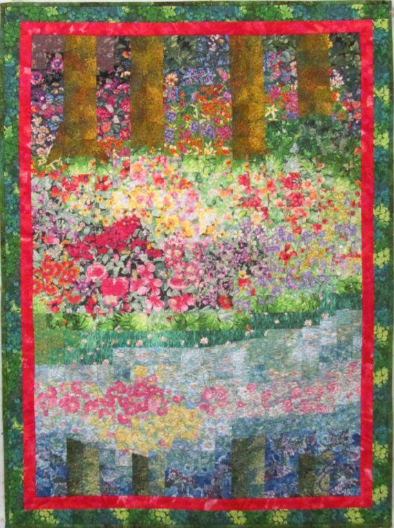 Riflessioni Originali Art Quilt Da Lenore Crawford