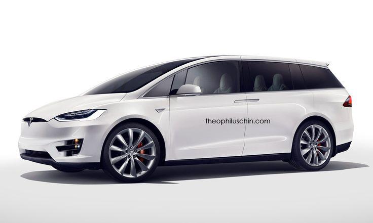 Este render nos hace imaginar un posible monovolumen de Tesla - http://www.actualidadmotor.com/imaginando-un-posible-monovolumen-de-tesla/