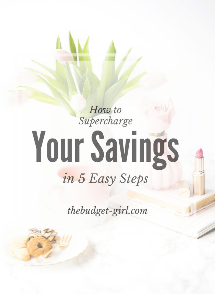 supercharge your saving