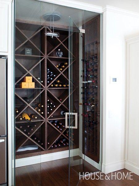 17 best ideas about wine cellar modern on pinterest wine for Walk in wine room