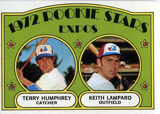 It is always fun to look back at these rookie cards and ask who???