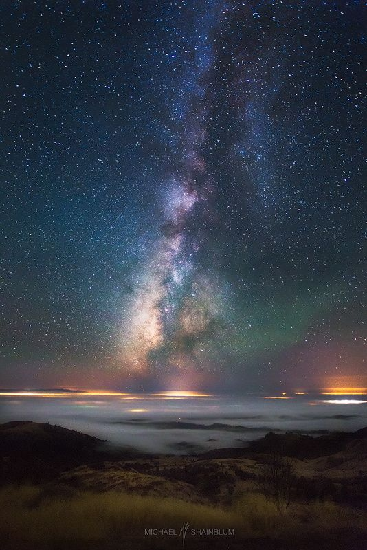 Lucid Dreams Michael Shainblum, Mount Figueroa in Santa Ynez, California