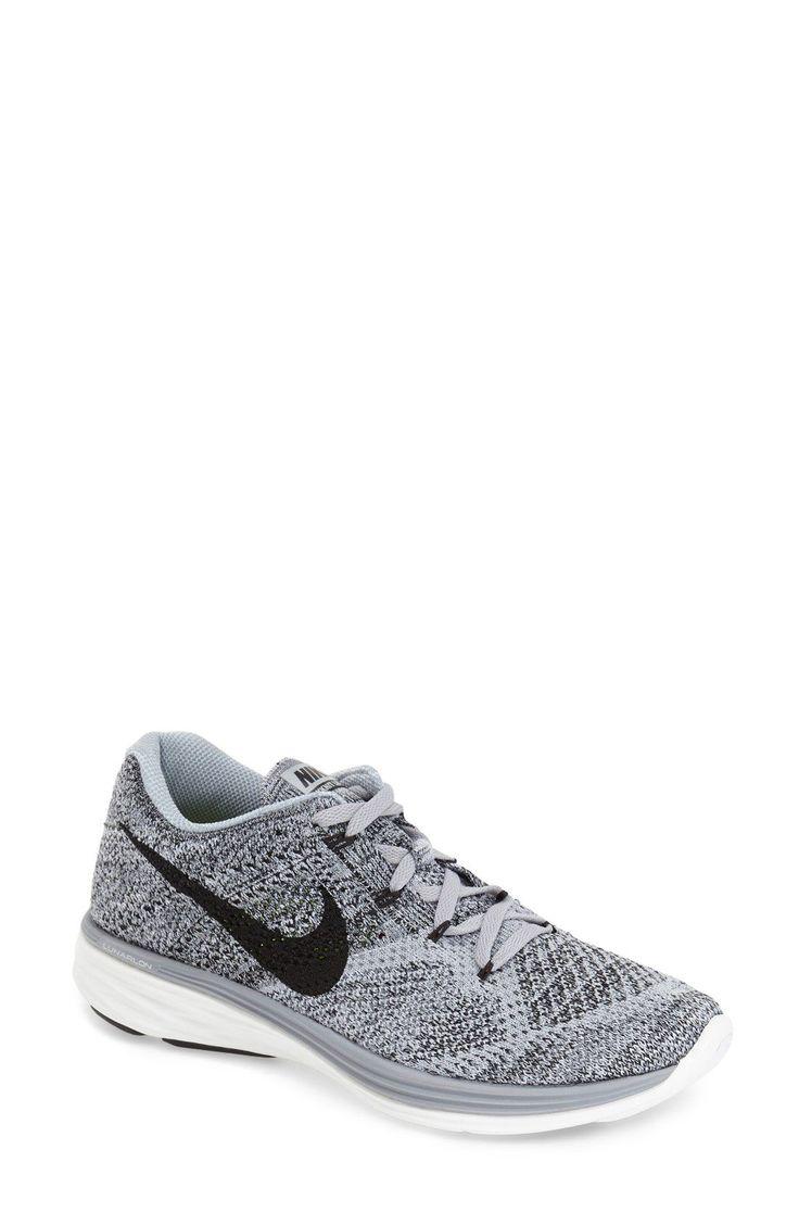 Nike 'Flyknit Lunar 3' Running Shoe (Women)