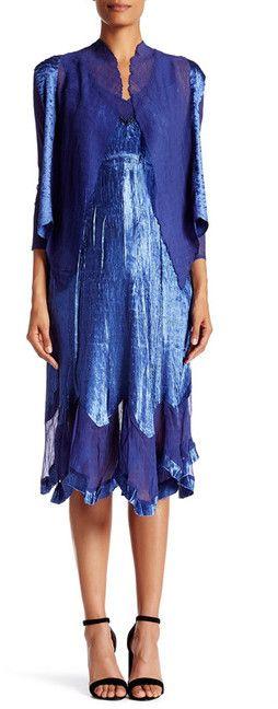 Komarov Handkerchief Dress and Jacket - 2-Piece Set