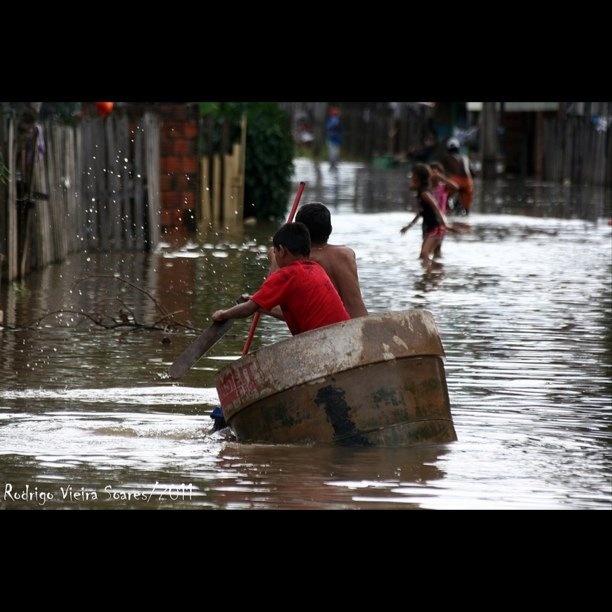 Enchente do rio Acre - @rodrigovieirasoares #webstagram
