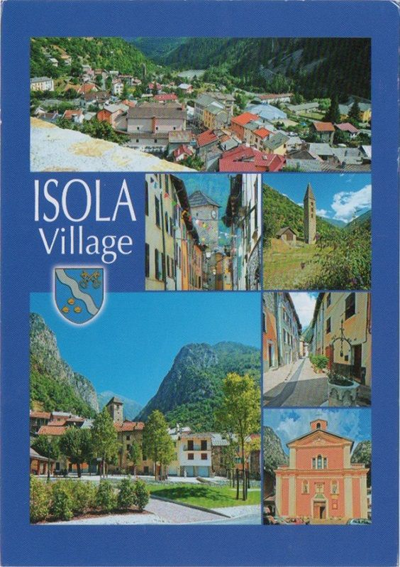 Swap - Arrived: 2017.02.13   ---   Isola is a village in the Alpes-Maritimes department in southeastern France.